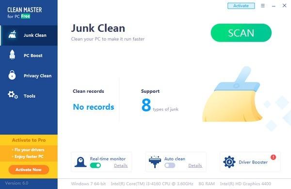 Clean Master(电脑清理软件)