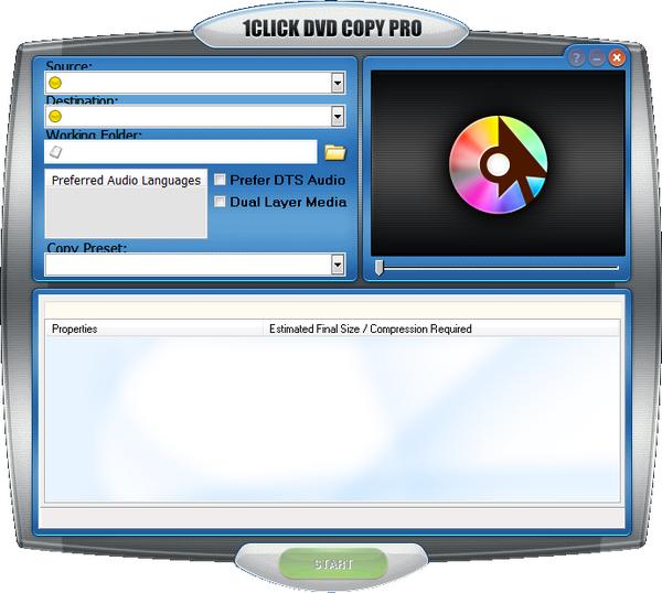 1Click DVD Copy Pro(DVD复制工具)