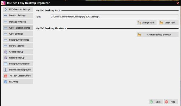 MSTech Easy Desktop Organizer(桌面整理工具)