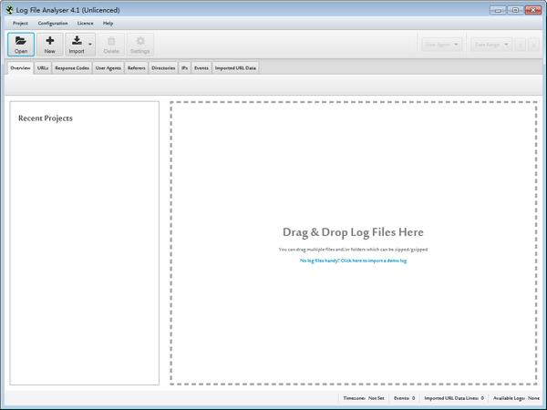 Screaming Frog Log File Analyser(站长日志分析软件)