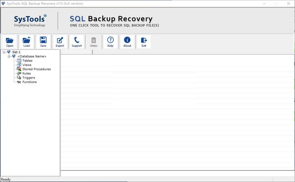 SysTools SQL Backup Recovery(数据库备份恢复工具)