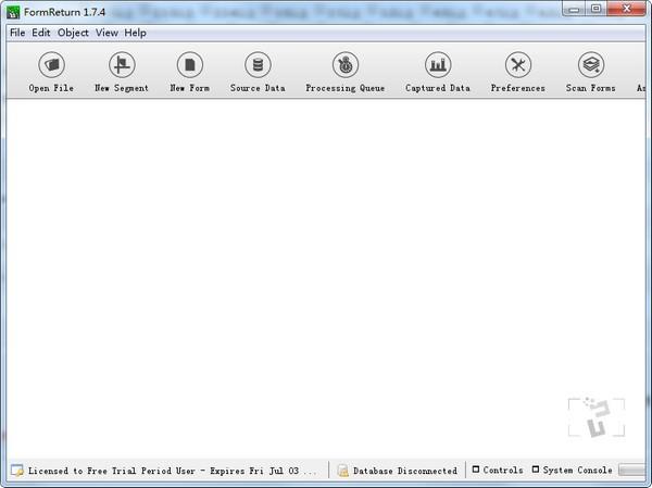 FormReturn(光学标记识别软件)
