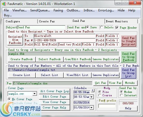 FaxAmatic(传真收发辅助软件)v18.04.01