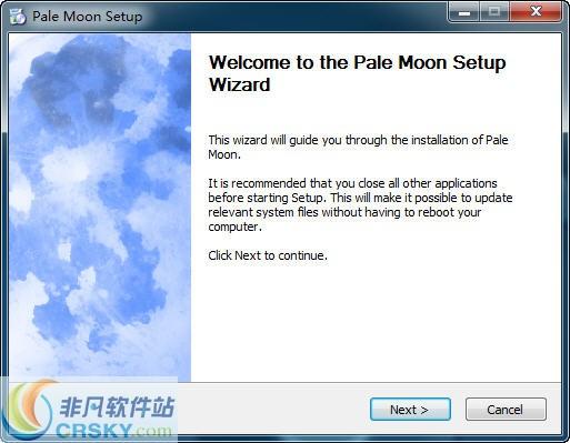 苍月浏览器Pale Moon v28.10.0 64位