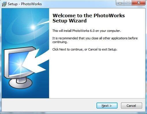 AMS SoftwarePhotoWorks(附破解补丁) v9.0