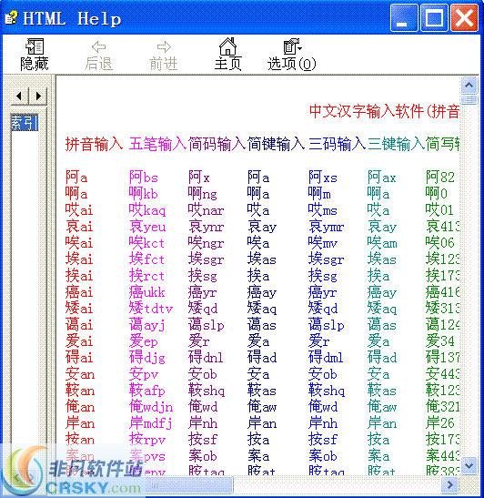 中文认知与22种输入法